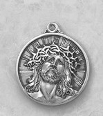 Ecce Homo Circular Medal On Chain