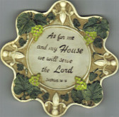 As For Me And My House We Will Serve The Lord Wall Plaque