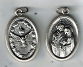 Holy Spirit and Holy Family Medal
