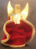 Angel Red Tree Topper