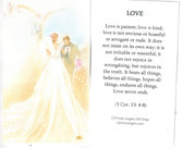 Love Is Prayer Card from 1 Corinthians 13