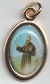 Saint Francis Color Medal