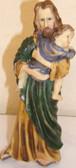 Joseph Holding Jesus Statue