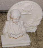 First Communion Boy Reading