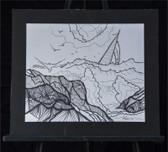 Used Matted Sailboat Print by Joseph Matose