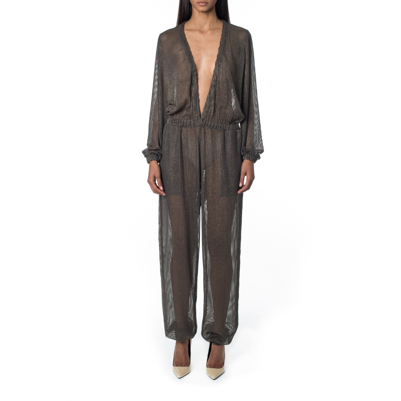 St. Barths Jumpsuit in Foil