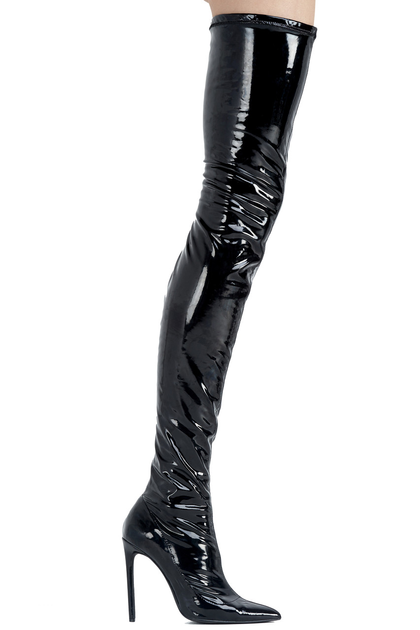 LQS PVC THIGH-HIGH - LaQuan Smith