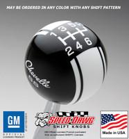 Chevelle SS Racing Stripe Shift Knob