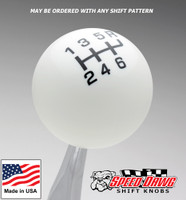 White / Black Pro Series Shift Knob