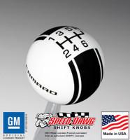 Camaro Racing Stripe Shift Knob 5th Gen