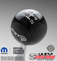 SRT Hellcat Carbon Fiber Finish Shift Knob