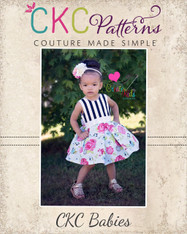 Nicole's Baby Party Dress PDF Pattern