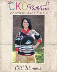 Sheridan's Women's Sweater Dress and Top PDF Pattern