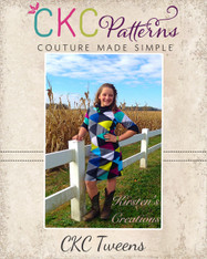 Sheridan's Tween's Sweater Dress and Top PDF Pattern