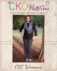 Risa's Women's Ruched Bow Leggings PDF Pattern