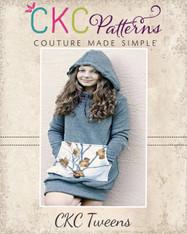 Haven's Tweens Hoodie Dress PDF Pattern