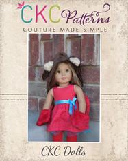 Winter's Hooded Wrap for Dolls PDF Pattern
