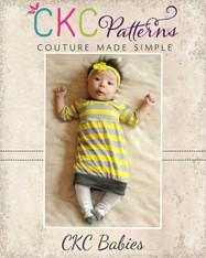 Vada's Baby Bubble Tunic/Dress PDF Pattern