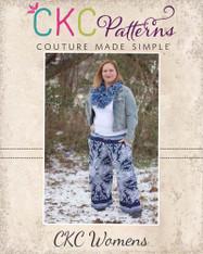 Jessica's Women's Knit Ruffle Pants and Capris PDF Pattern