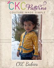 Emmalyn's Baby Cardigan PDF Pattern