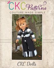 Emmalyn's Cardigan Doll SizesPDF Pattern