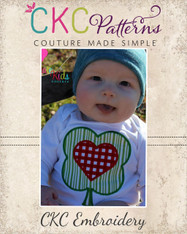 Shamrock Heart Embroidery Design