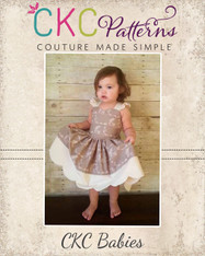 LaRae's Babies Scalloped Dress & Top PDF Pattern