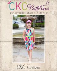 Jackie's Tween Oh So Retro Pocket Dress PDF Pattern
