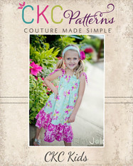 Faith's Shirred Sundress PDF Pattern
