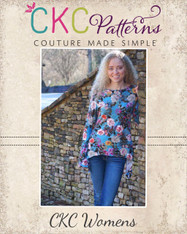 Zelda's Women's Knit Irregular Hem Top and Tunic PDF Pattern