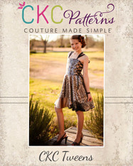 Alexah's Asymmetrical Dress and Maxi Sizes 6/12m to 15/16 Girls PDF Pattern