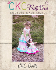 Blythe's Tiered Tunic, Dress, and Maxi Doll Sizes PDF Pattern