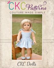 Waverly's Doll Strappy Sundress and Maxi PDF Pattern