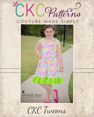 Waverly's Tween Strappy Sundress and Maxi PDF Pattern