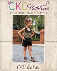 Gemma's Babies Lace Shorts PDF Pattern
