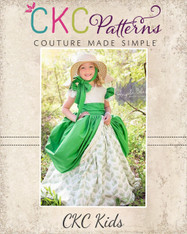 Evangeline's Elegant Ballgown PDF Pattern