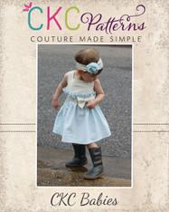 Joslynn's Baby Gathered Dress and Romper PDF Pattern