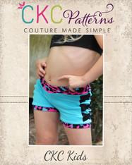 Xana's Dance Shorts PDF Pattern