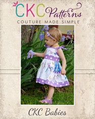 Polly's Babies Pretty Pocket Dress PDF Pattern