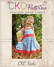 Polly's Pretty Pocket Dress PDF Pattern