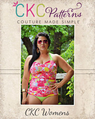 Xiomara's Women's Bikini and Ruched Tankini PDF Pattern