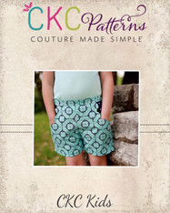 Greers Scallop Pocket Shorts PDF Pattern