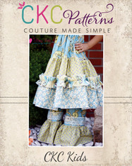 Jenna's Lace Ruffle Pants and Capris PDF Pattern