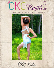 Crystann's Criss Cross Dance Top & Hot Pants PDF Pattern