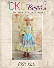 Joy's Lace Twirly Dress PDF Pattern
