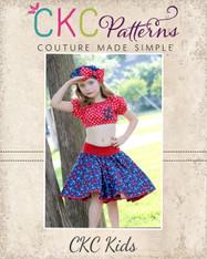 Sassy's Sock Hop Circle Skirt PDF Pattern