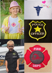 Everyday Heroes Badges Embroidery Design