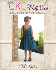 Amy's Knit Bow Dress and Maxi PDF Pattern