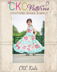Julia's Twirly Maxi Dress PDF Pattern