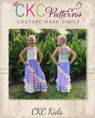 Marigold's Knit Mix-and-Match Dress and Maxi PDF Pattern